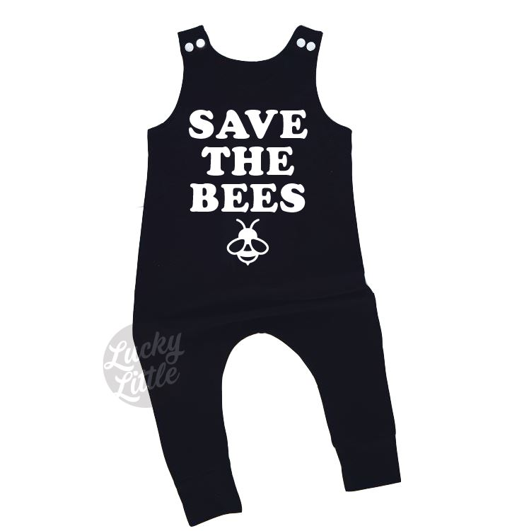 LUCKYLITTLECOZA_ROMPERS_SAVETHEBEES