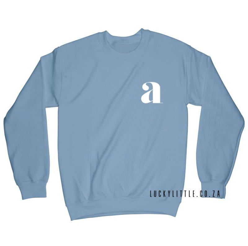 luckylittle_menssweater_monogram_blue