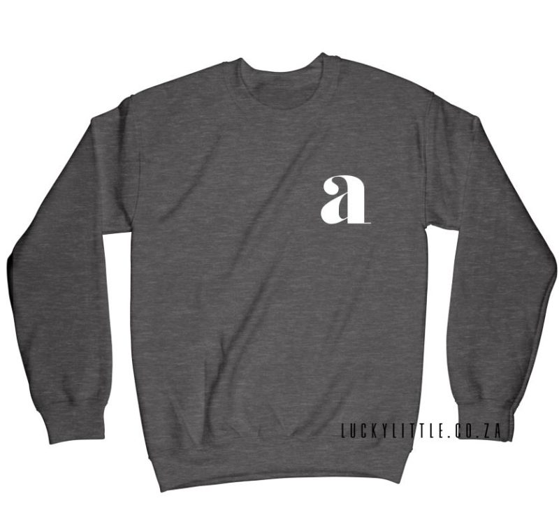 luckylittle_menssweater_monogram_charcoal